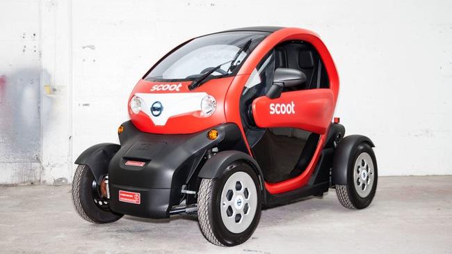Renault Twizy – Ô tô điện tiện như xe máy