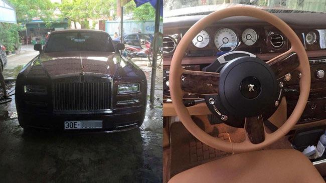 Rolls-Royce Phantom Lửa thiêng 51 tỷ Đồng đã có biển trắng