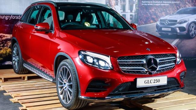Rộ thông tin về giá bán của Mercedes-Benz GLC 2016 tại Việt Nam
