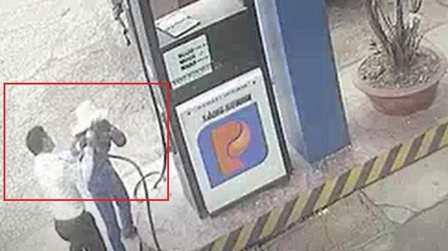 Nam cán bộ ngân hàng đánh rách đầu nữ nhân viên bán xăng