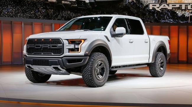 """Rò rỉ giá bán của xe bán tải """"khủng long"""" Ford F-150 Raptor 2017"""