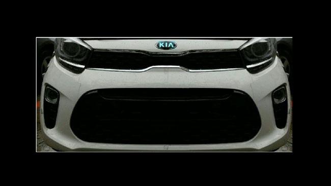 Kia Morning mới lần đầu rò rỉ hình ảnh với thiết kế thể thao hơn