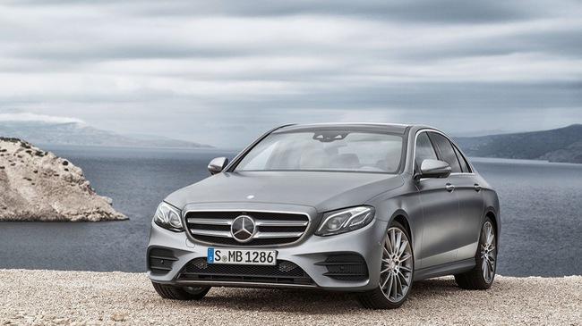 Mercedes Benz E-Class ra mắt vào tuần sau, đẹp như S Class thu nhỏ