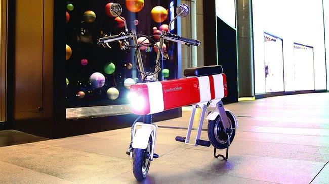 Motochimp - Xe điện lấy cảm hứng từ xe 2 kỳ Honda Motocompo