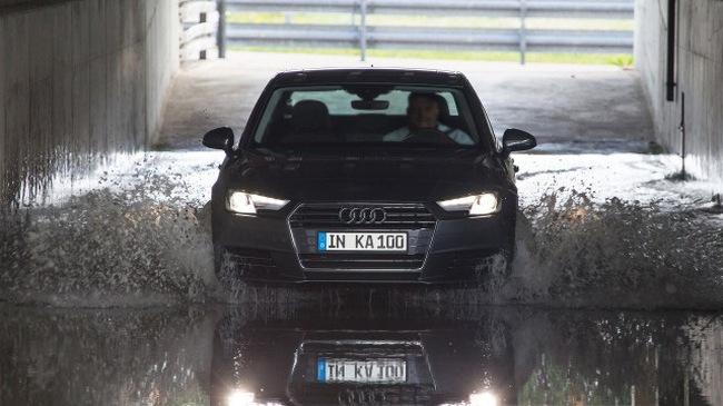 Audi thử độ bền của xe như thế nào?
