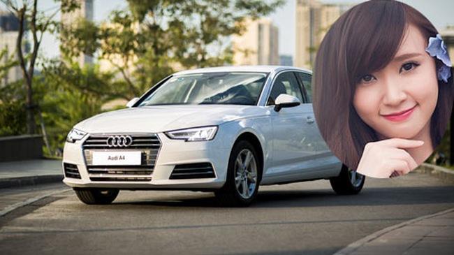 Hot girl Midu tậu xe mới Audi A4 2016 thay thế Honda Civic 1