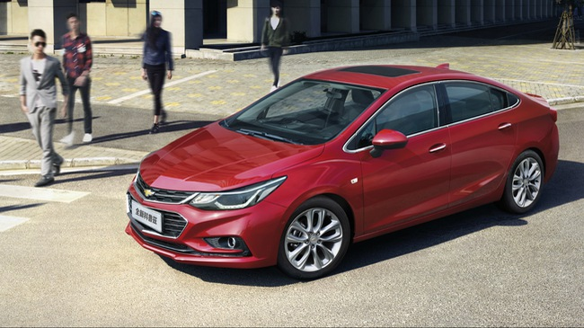 Chevrolet Cruze XL có giá từ 367 triệu Đồng, nhắm đến khách hàng trẻ