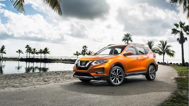 Nissan Rogue 2017, đối thủ của Honda CR-V và Mazda CX-5, được chốt giá