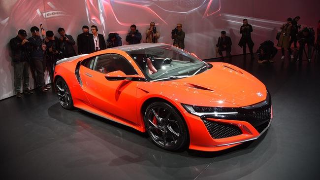 """Siêu xe Acura NSX thế hệ mới ra mắt tại Trung Quốc với giá """"chát"""""""
