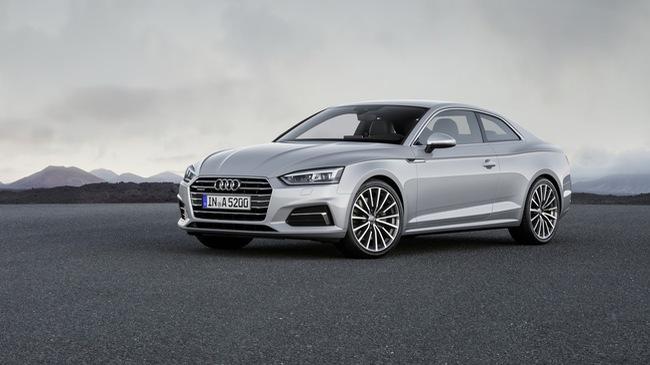 Chi tiết xe sang Audi A5 Coupe thế hệ mới tại Mỹ