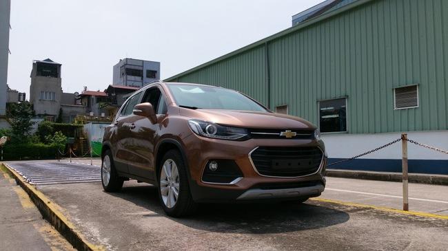 Bắt gặp Chevrolet Trax 2017 sắp ra mắt Việt Nam trong tuần sau