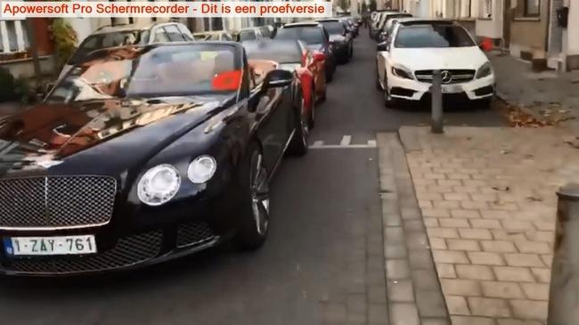 Dàn 42 xe sang và siêu xe đón dâu gây náo loạn đường phố