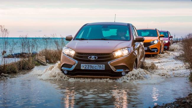 Xe Nga giá rẻ Lada XRay được cải tiến để off-road tốt hơn