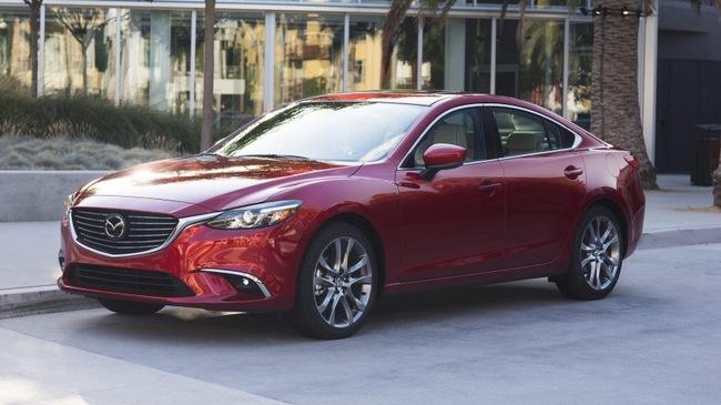 Mazda6 2017 trình làng, thiết kế không đổi, trang bị tốt hơn