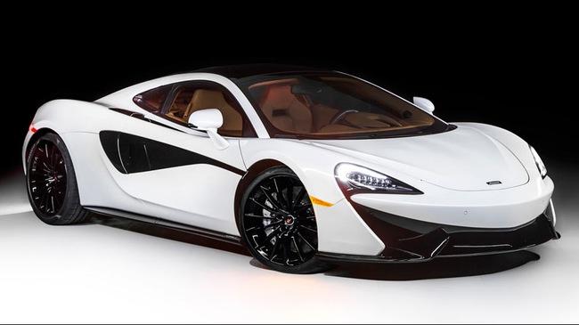 McLaren ra mắt siêu xe được trang bị nóc đổi màu độc đáo