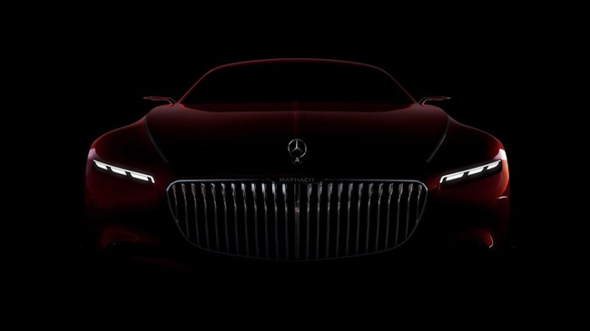 MercedesMaybach 6 Concept lo dien them canh tranh voi RollsRoyce Wraith
