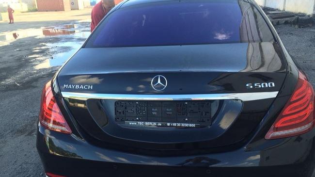 Xe siêu sang Mercedes-Maybach S500 đã về Việt Nam