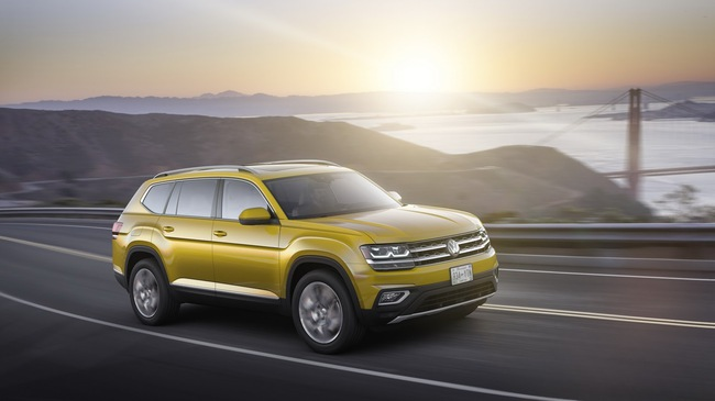 Volkswagen Atlas 2018 - Xe crossover 7 chỗ mới, cạnh tranh Mazda CX-9