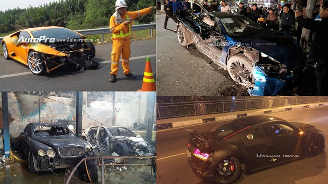 """Siêu xe và xe siêu sang """"đen đủi"""" nhất trong năm 2016"""