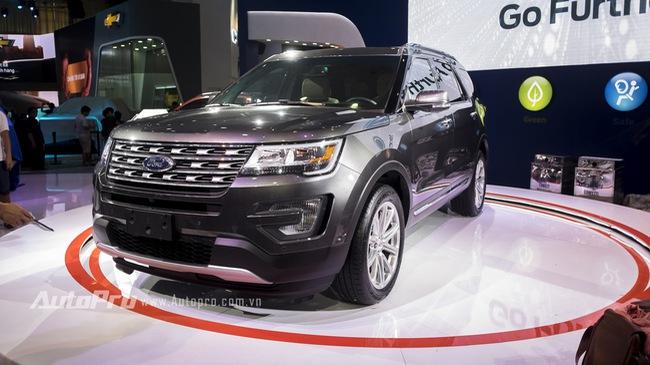 Ford Explorer: Ngôi sao của gian hàng Ford tại VMS 2016