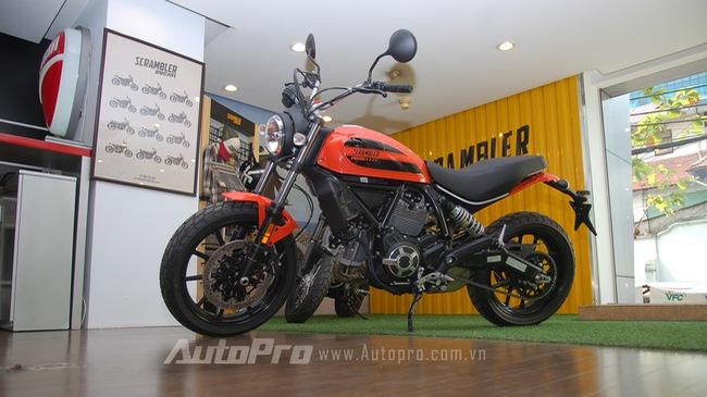Chi tiết Ducati Scrambler Sixty2 tại Việt Nam