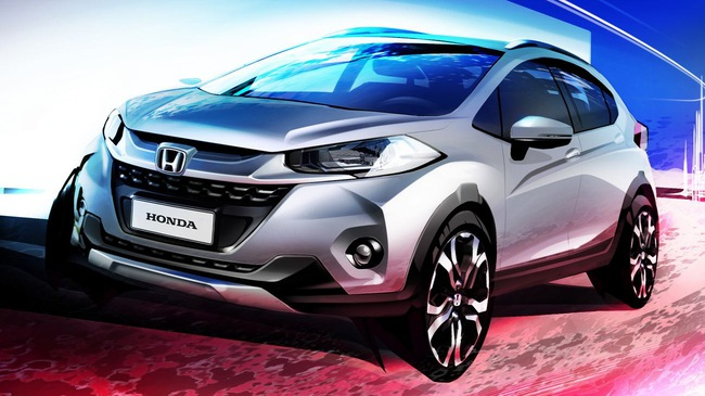 SUV đô thị Honda WR-V xuất đầu lộ diện, cạnh tranh với Ford EcoSport