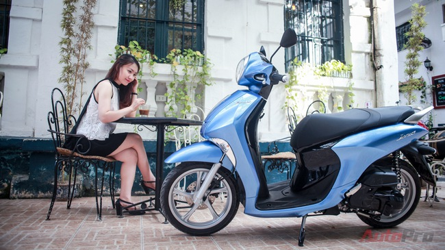 """Đánh giá Yamaha Janus: Lựa chọn """"vừa túi"""" cho phái đẹp"""