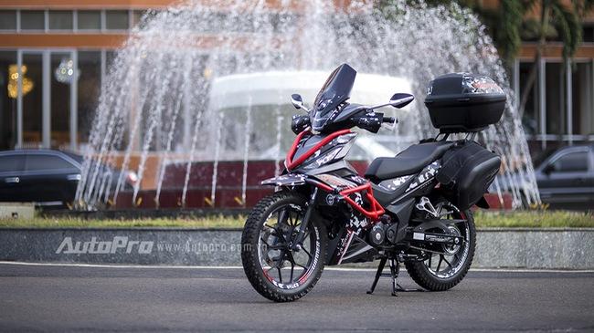 Cận cảnh Honda Winner 150 độ Adventure cực chất giá 80 triệu Đồng