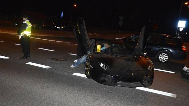 """Lamborghini Aventador mất trộm tại Đức bị """"bỏ rơi"""" ở Ba Lan"""