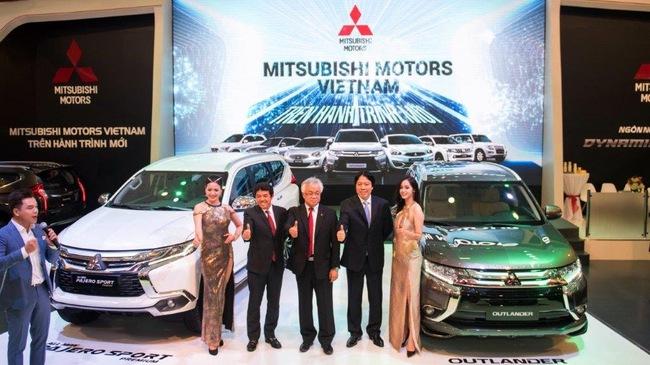 Mitsubishi Motors Việt Nam tạo ấn tượng với thiết kế Dynamic Shield