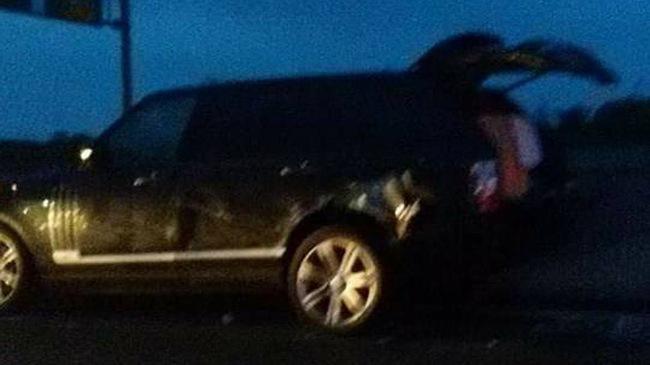 Range Rover gây tai nạn liên hoàn trên cao tốc TP.HCM - Trung Lương