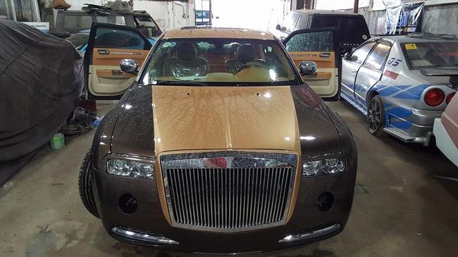 Rolls-Royce Phantom tự chế 200 triệu Đồng của thợ Việt đã hoàn thành