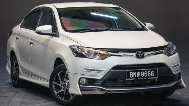 Toyota Vios 2016 chính thức ra mắt tại Malaysia, giá từ 415 triệu Đồng