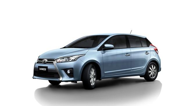 Toyota Yaris 2016 nhập Thái ra mắt, giá từ 636 triệu đồng