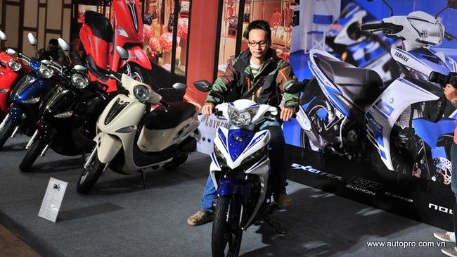 Yamaha Exciter vững vàng ngôi vương xe côn tay tại Việt Nam