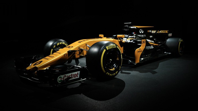 Renault ra mắt xe đua F1 mới cho mùa giải 2017