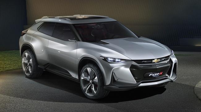 """Chevrolet FNR-X - Xe crossover cực """"ngầu"""" nhưng chỉ ra đời """"cho vui"""""""