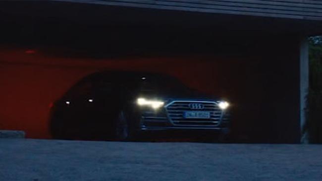 Audi A8 2018 lần đầu tiên lộ diện, có hệ thống đỗ xe tự động