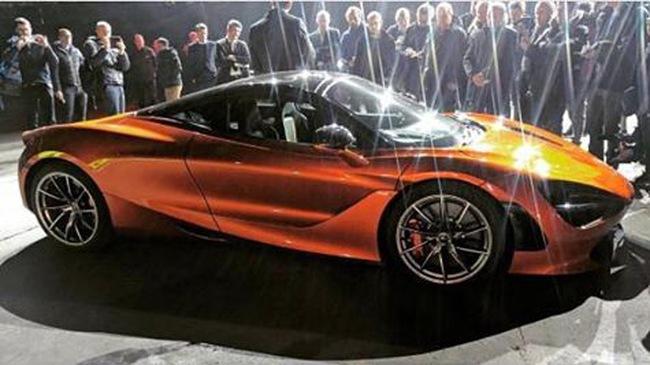 Siêu xe McLaren 720S hoàn toàn mới bất ngờ lộ diện