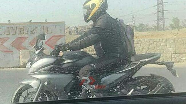 Yamaha Fazer 250 2017 tiếp tục bị bắt gặp trên đường phố