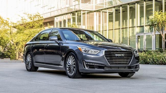 Sedan hạng sang cỡ lớn Genesis G90 là xe khiến khách hàng Mỹ hài lòng nhất