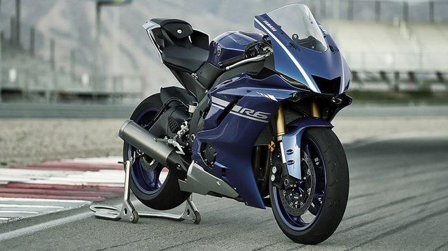 Mô tô thể thao Yamaha YZF-R6 2017 yếu hơn phiên bản cũ