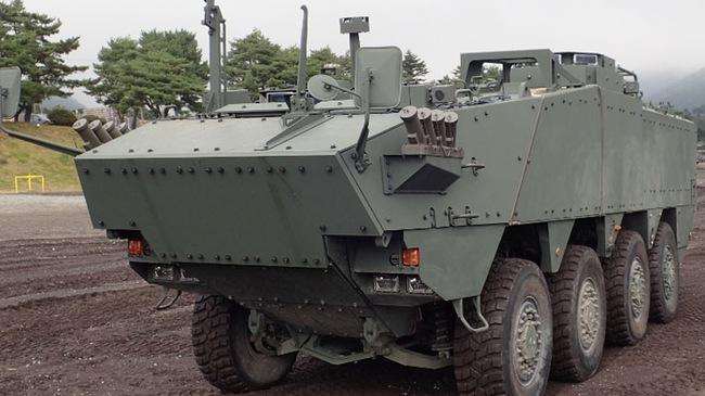 Hé lộ thông tin xe chở quân thế hệ mới của quân đội Nhật Bản