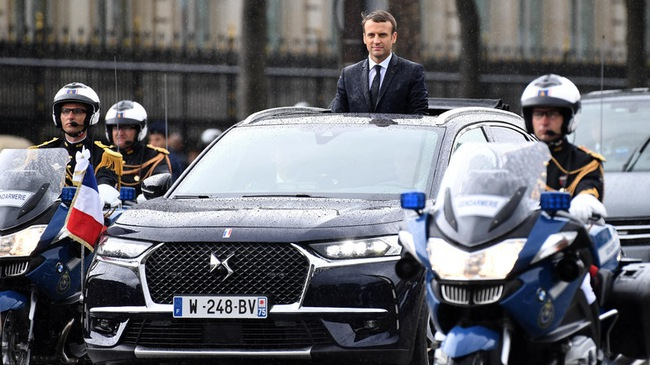 Khám phá chiếc SUV mở mui đặc biệt của tân Tổng thống Pháp Emmanuel Macron