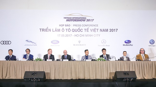 Nhiều hãng rút khỏi triển lãm ô tô Quốc tế Việt Nam 2017