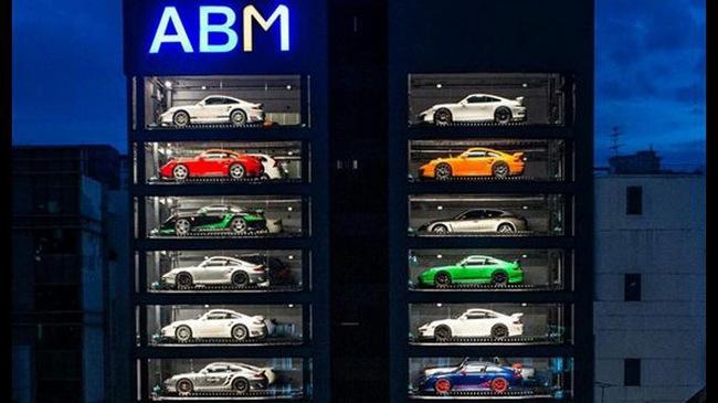 Chiêm ngưỡng hệ thống đỗ xe hiện đại của Singapore