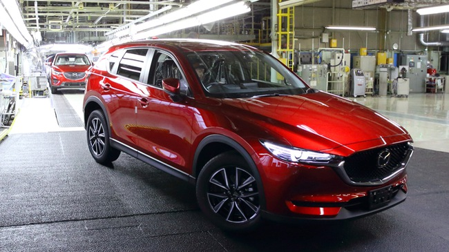 Mazda CX-5 2017 được tăng cường sản xuất vì đắt hàng