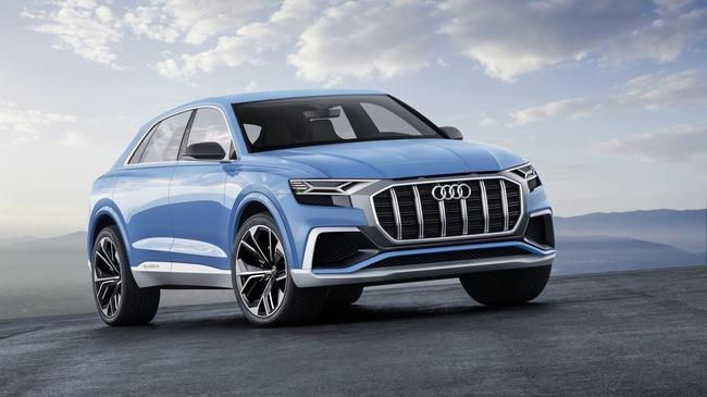 Vén màn SUV hạng sang công nghệ cao Audi Q8
