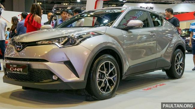 Crossover cỡ nhỏ Toyota C-HR ra mắt Đông Nam Á