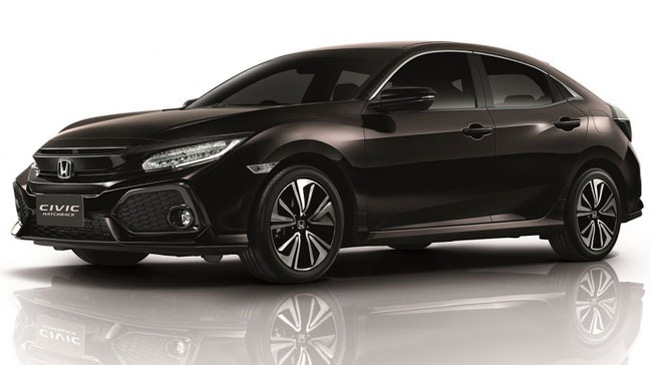 Honda Civic Hatchback 2017 trình làng tại Đông Nam Á với giá 753 triệu Đồng